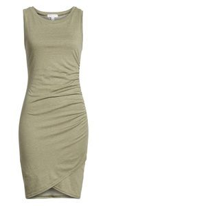 Leith ruched tank dress